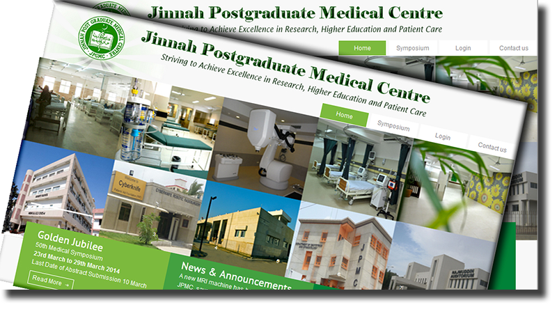 Design and Development of Jinnah Postgraduate Medical Center Website: