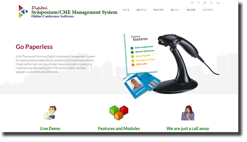 Design and Development of CME Website: